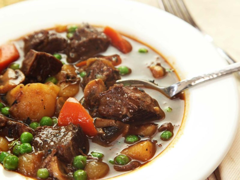 Hearty Classic Instant Pot Beef Stew Recipe - Pressure Cooker Beef Stew