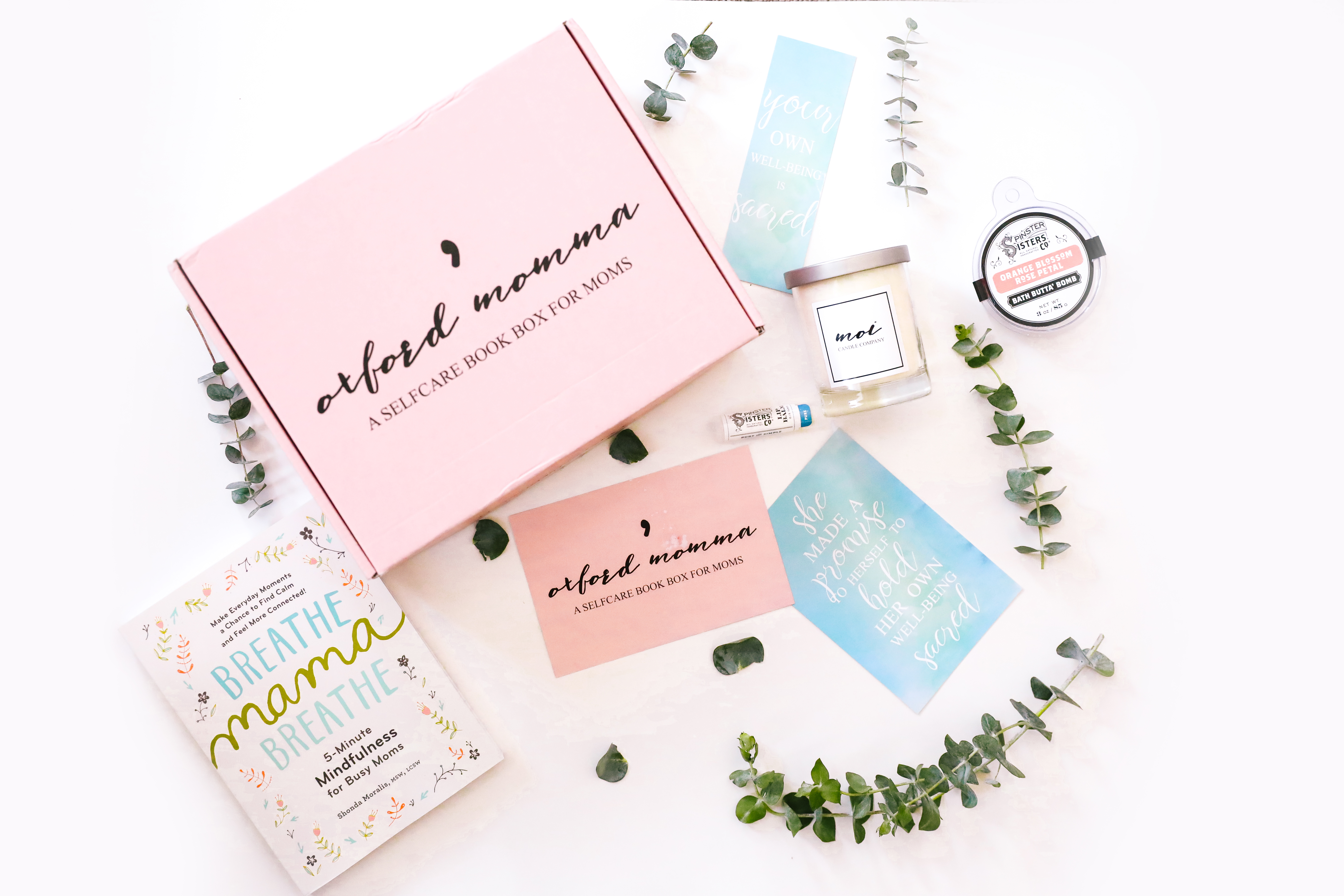 Oxford Momma Self-care Subscription Box for Moms
