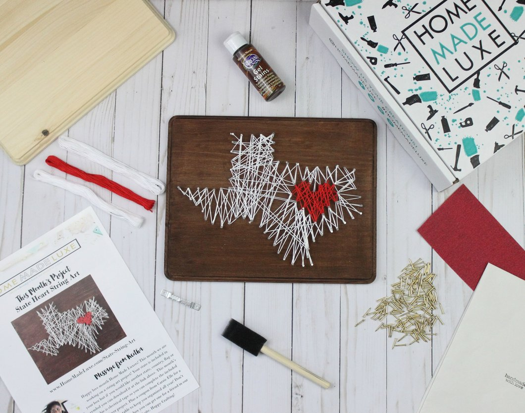 Home Made Luxe- How to Create a Craft Night