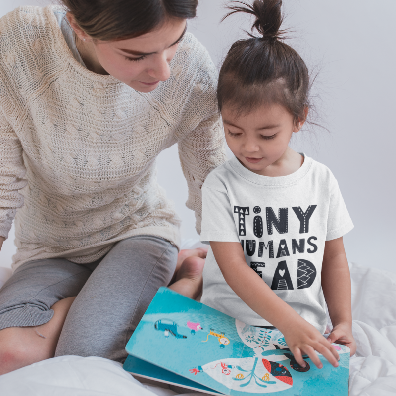 Make Reading Fun with Tiny Humans Read Book Box for Kids - Subscription Box for Kids