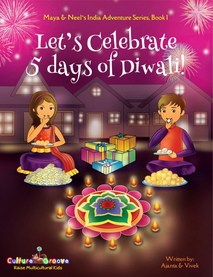 Let's Celebrate 5 Days of Diwali! - Best Books for Kids from Brave Little Mom Blog for Moms