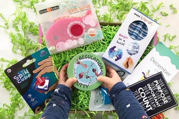 Sensory TheraPLAY Box- - Subscription Boxes for Kids - Educational Kids Subscription Boxes